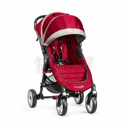 BABY JOGGER - City Mini 4 kolesá CRIMSON/GRAY
