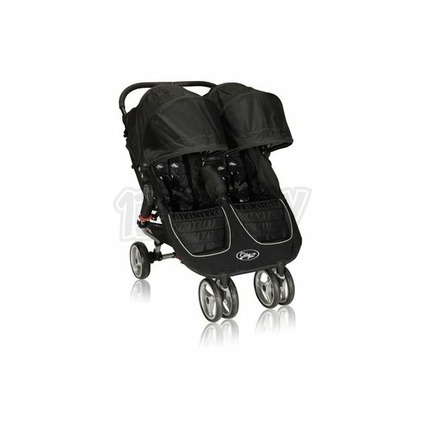 BABY JOGGER - City Mini double BLACK/GRAY