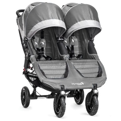 BABY JOGGER - City Mini double GT STEEL GRAY