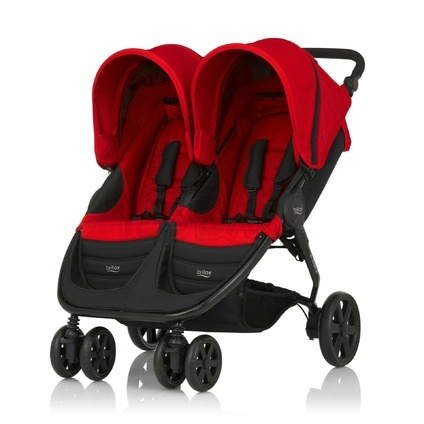 BRITAX - B-AGILE DOUBLE 2016, Flame Red