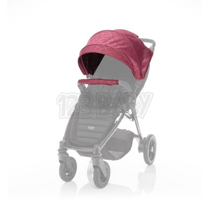 BRITAX RÖMER Barevný set ke kočárku B-Agile 4 Plus/B-Motion 3/4 Plus Limited, Geometric Wine Red