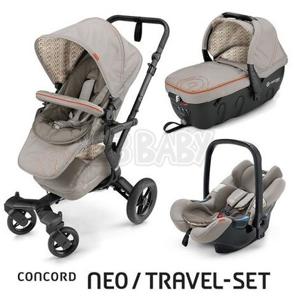 Concord NEO TRAVEL SET 2016 - Cool Beige