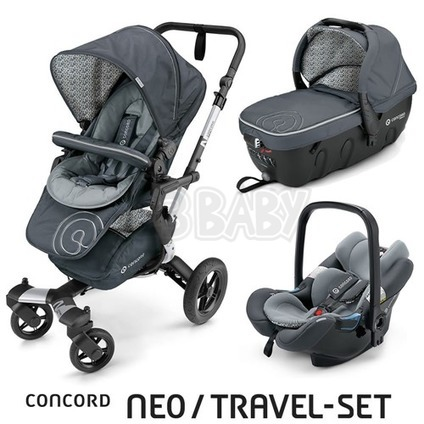 Concord NEO TRAVEL SET 2016 - Graphite Grey