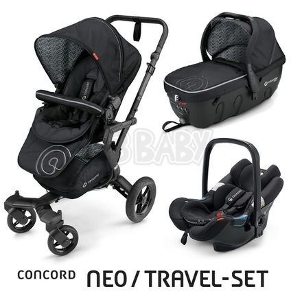 Concord NEO TRAVEL SET 2016 - Midnight Black
