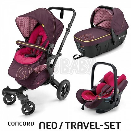 Concord NEO TRAVEL SET 2016 - Rose Pink