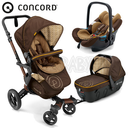 Concord NEO TRAVEL SET 2016 - Walnut Brown