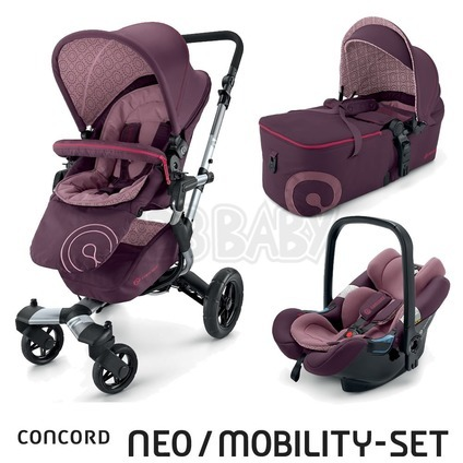 CONCORD -Travel Set Neo AIR + Scout 2015 - Raspbery Pink