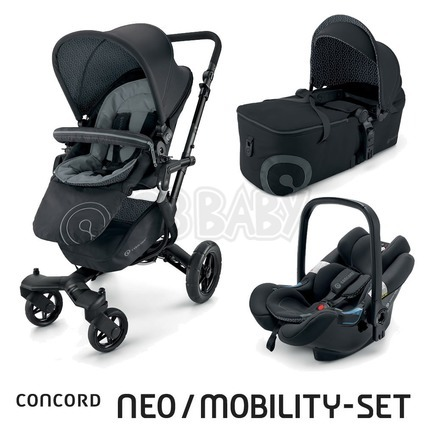 CONCORD -Travel Set Neo AIR + Scout 2015 - Raven Black