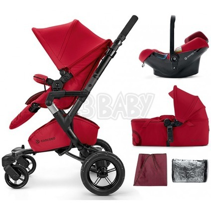 CONCORD -Travel Set Neo AIR + Scout 2015 - Ruby Red