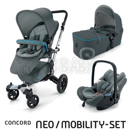 CONCORD -Travel Set Neo AIR + Scout 2015 - Stone Grey