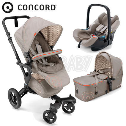 CONCORD - Travel Set Neo AIR + Scout 2016 - Cool Beige