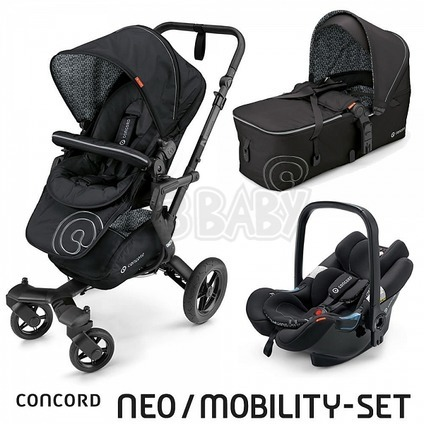 CONCORD -Travel Set Neo AIR + Scout 2016 - Midnight Balck