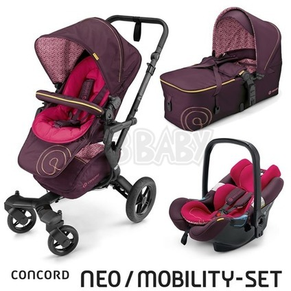 CONCORD -Travel Set Neo AIR + Scout 2016 - Rose Pink