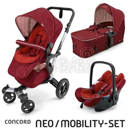 CONCORD -Travel Set Neo AIR + Scout 2016 - Tomato Red