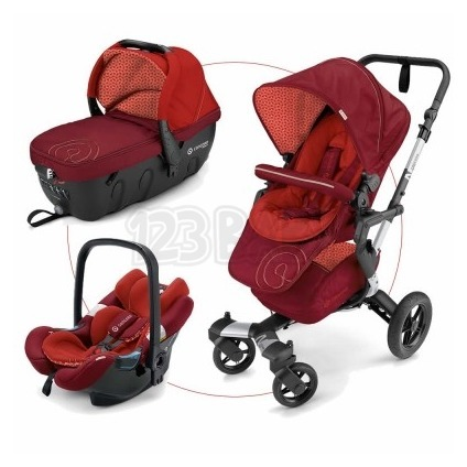 Travel Set Neo Air.Safe+Sleeper Flaming Red Concord 2017